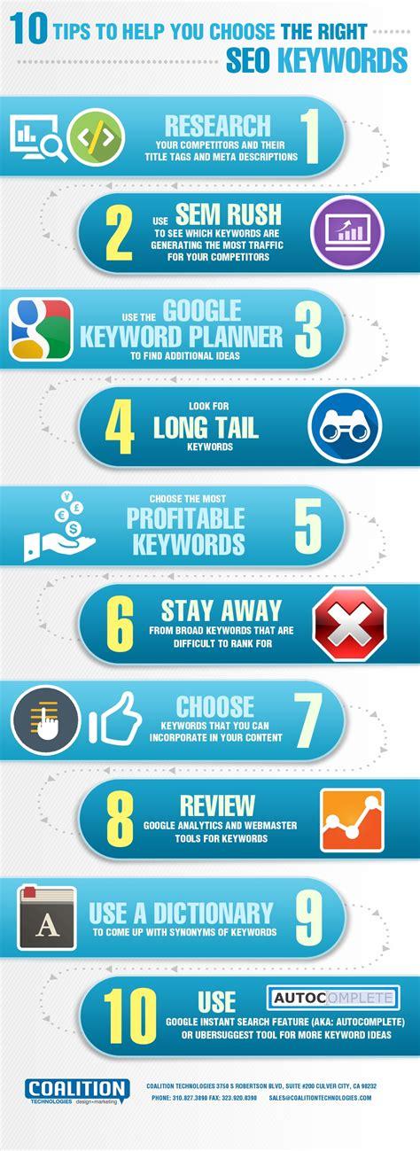 seo keywords 10 tips to help you choose the right seo keywords