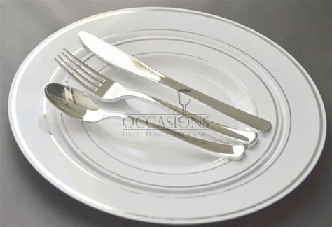 Bulk, Wedding Party Disposable Plastic Plates And