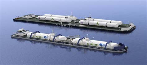 New LNG Bunker Barge Concepts by Crowley's Jensen Maritime