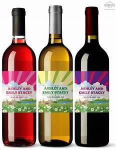 wedding wine bottle labels wedfest With custom photo wine bottle labels