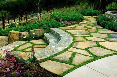 brilliant ideas  stone pathways   garden