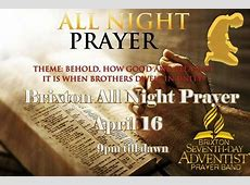 Brixton All Night Prayer Johannesburg
