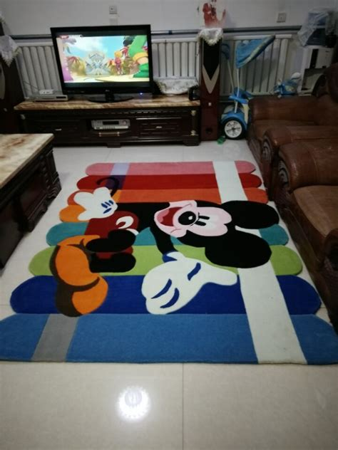 mickey mouse carpet salon tapis alfombras tapis anime