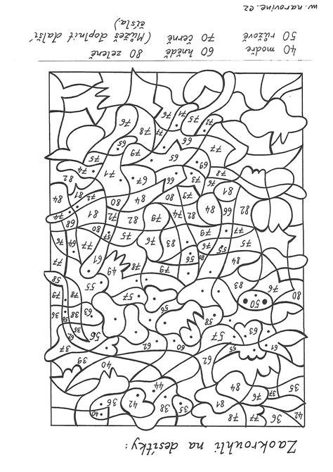Kleurplaat Met Sommen Groep 6 by Luxe Sommen Kleurplaat Tafels Klupaats Nieuwe