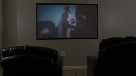 diy home theater projector   screen