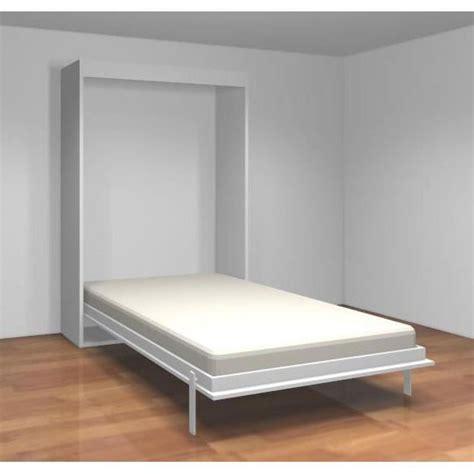desserte de cuisine but teo armoire lit escamotable 140 cm blanc mat achat
