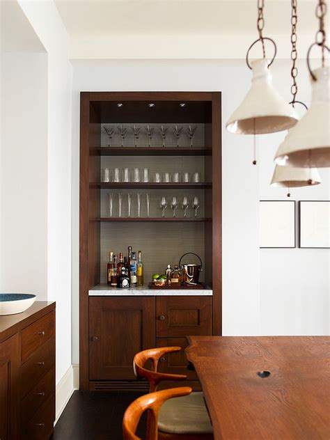 modern corner kitchen table 20 small home bar ideas and space savvy designs