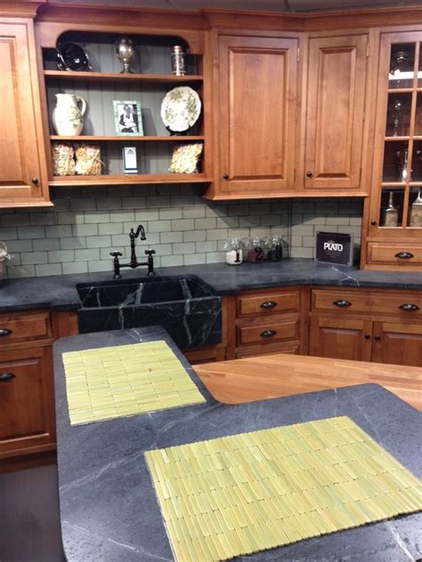 store display traditional kitchen new york by sam
