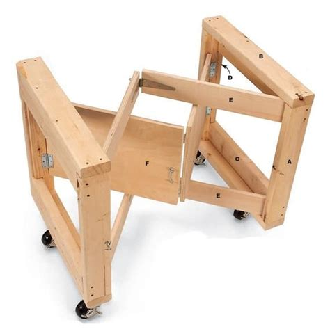 folding table base planfolding craft table base planplay