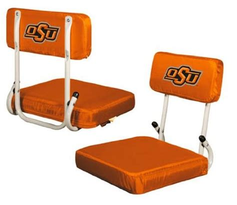 cheap stadium seat folding bleacher chair oklahoma state