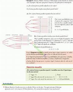 Combinatoria Y El Diagrama Del Arbol Ejercicios Resueltos De Secundaria Pdf