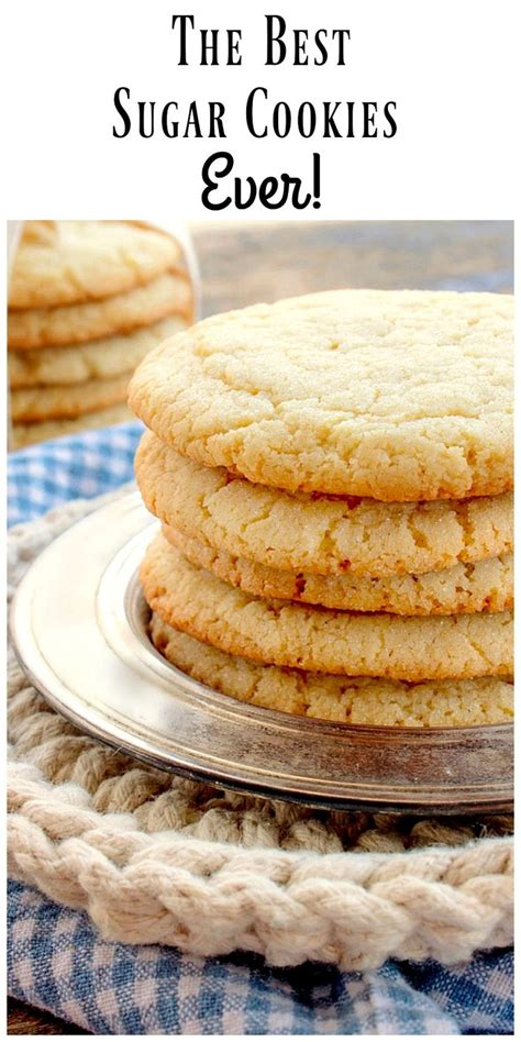 Troubleshooting tips for baking the best lemon cookies ever. The Best Sugar Cookie Recipe EVER! This recipe makes BIG ...