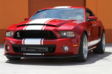 Ford Mustang Shelby Cobra Gt500 Super Snake Engine