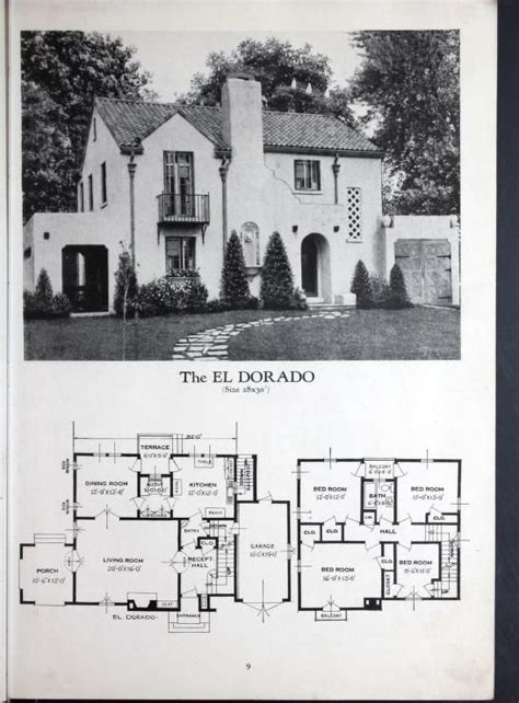 antique spanish house plans 2370 best 1800 s 1940 s house plans images on vintage house plans floor plans and