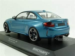 Bmw M2 1 18 : bmw m2 coupe f87 blue metallic 1 18 155026101 minichamps ~ Jslefanu.com Haus und Dekorationen