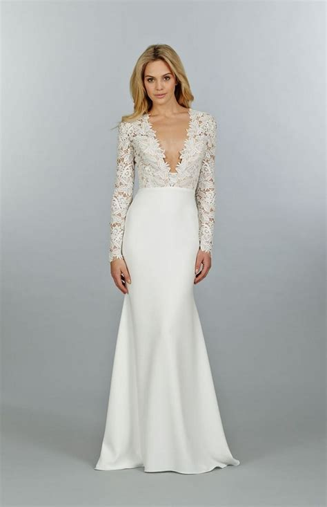 Modern Wedding Dresses 2018 With Long Sleeves To Try This