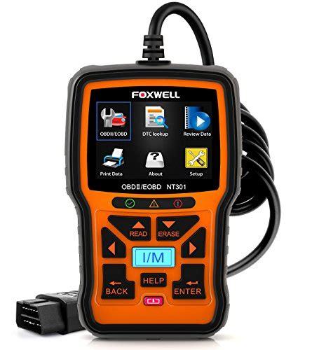 check engine light reader foxwell nt301 car obd2 code scanner universal check engine