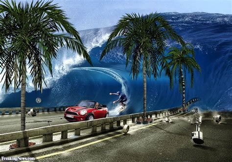 tsunami hits hawaii pictures freaking news