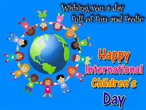 My Children's Day Ecard. Free International Children's Day ...