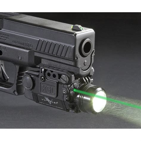 universal gun laser light viridian gen 2 green laser sight light strobe 178 224