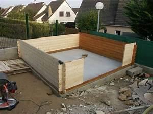 Abri De Jardin Fait Maison : construction de l 39 abri de jardin enceintes diy et ~ Dailycaller-alerts.com Idées de Décoration