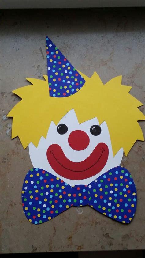 clown gesicht basteln die besten 25 clown basteln ideen auf zirkus kunst fasching basteln und karneval
