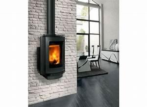 Poele Suspendu Design : 7 best po le chemin e images on pinterest salons fireplaces and home ~ Melissatoandfro.com Idées de Décoration