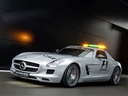 Mercedes Amg Sls Safety F1 Benz Gullwing