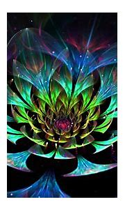 Abstract Lotus Flower 4k Ultra HD Wallpaper | Background ...