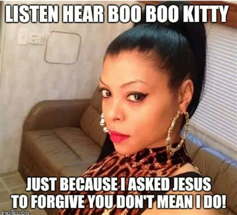 Thanks Boo Meme - cookie lyon quotes boo boo kitty quotesgram