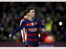Sporting vs Barcelona Lionel Messi becomes the first