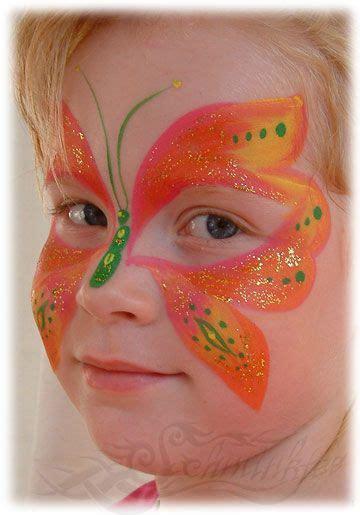 kinder schminken anleitung die besten 25 kinderschminken schmetterling ideen auf kinder schminken