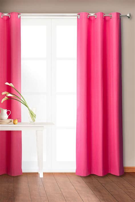 cortina color frambuesa le dar 225 un toque de color a tus
