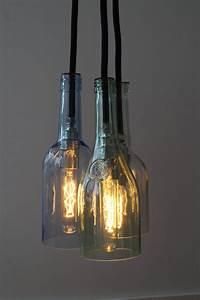 Stylische Lampen : flaschenlampe selber bauen sch n lampen selber bauen ~ Pilothousefishingboats.com Haus und Dekorationen