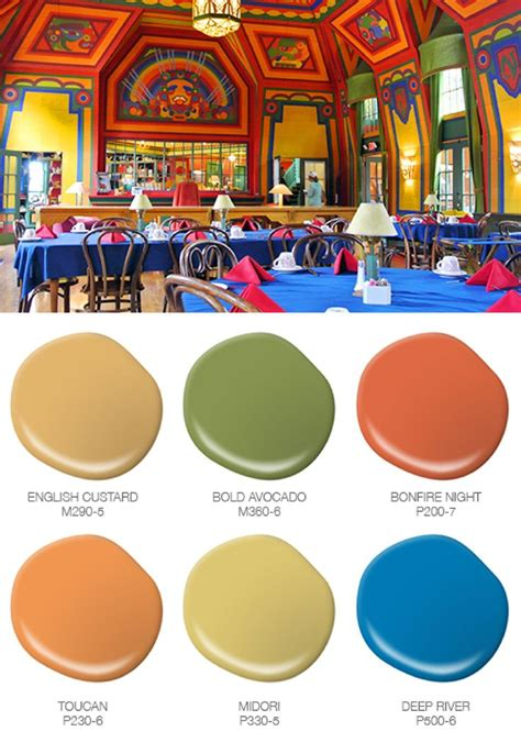 bring the colorful hues of traveling to home with these behr paint see how the