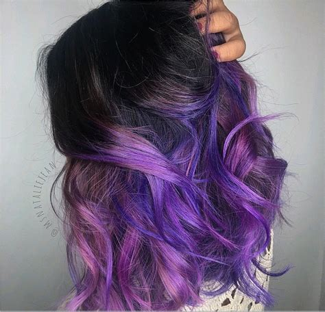 22 Ways To Style Purple Ombre Hair
