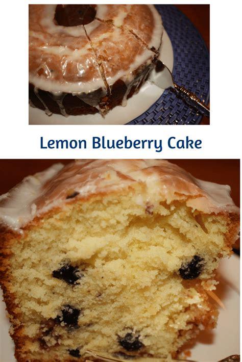 lemon blueberry cake desserts required
