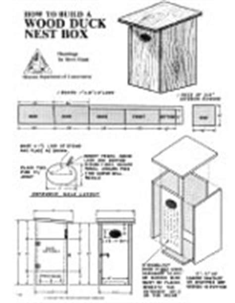 woodwork plans   wood duck house  plans