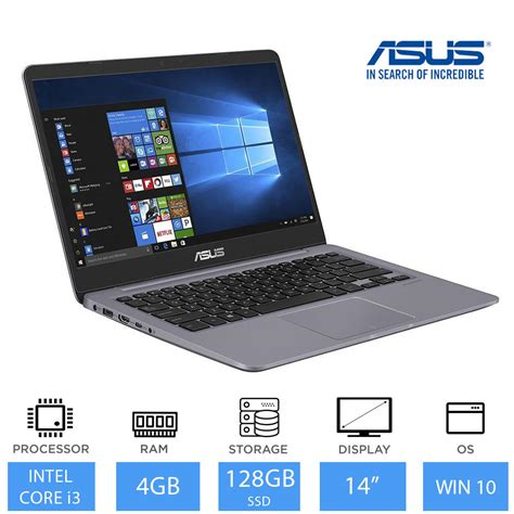 I3 Weight by Asus Vivobook S14 S410ua 14 Quot Light Weight Laptop Intel