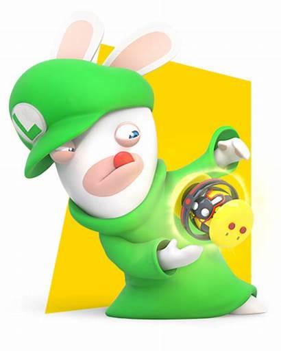 Luigi Rabbid Rabbids Mario Kingdom Battle Characters
