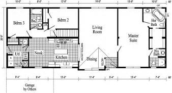ranch house plans open floor plan fairhaven ranch style modular home pennwest homes model