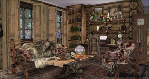 house   forest witch  tanitas sims sims  updates