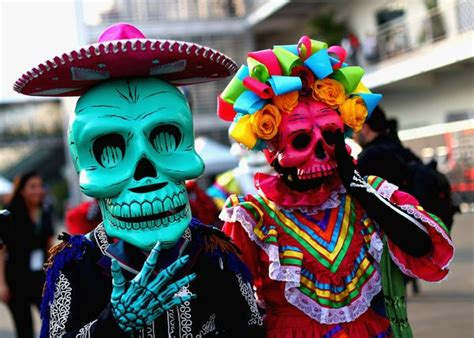 Photos of Mexico's breathtaking Day of the Dead festival ...