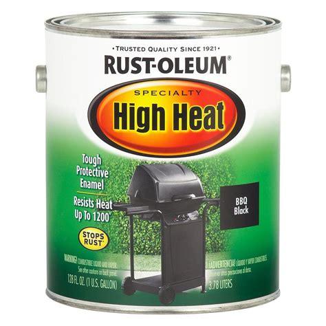 Rustoleum Specialty 1 Gal Barbque Black Low Voc High