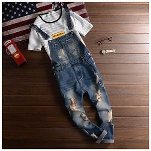 Designer Overalls Womens Aliexpress Com Buy Fashion Casual Designer Ripped Jeans