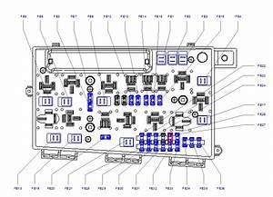 Vauxhall Zafira A Fuse Box Diagram
