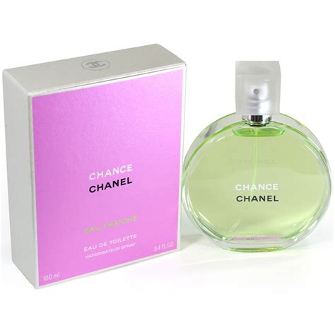 boxed packed chanel chance eau fraiche eau de toilette