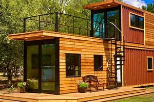 Shipping Container Home Has A Sweet Roof Terrace
