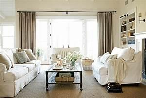 Tendance Rideaux Salon : d co salon tendance rideaux rideaux modernes salon ~ Premium-room.com Idées de Décoration
