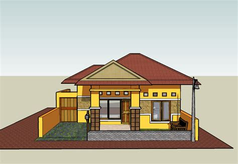 rumah sederhana sketchup sketchup indonesia